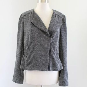 NWT Catherine Malandrino Asymmetrical Zip Jacket